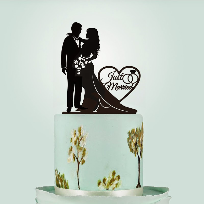 Wedding Cake Toppers - Make your Own Custom Personalize Cake Topper ...