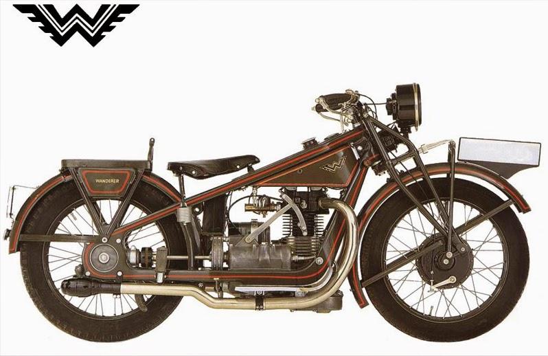 Motocykl Wanderer K 500