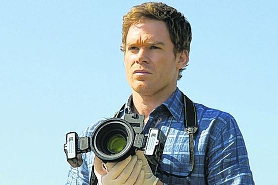Photo de Michael C. Hall dans la série télévisée, Dexter.