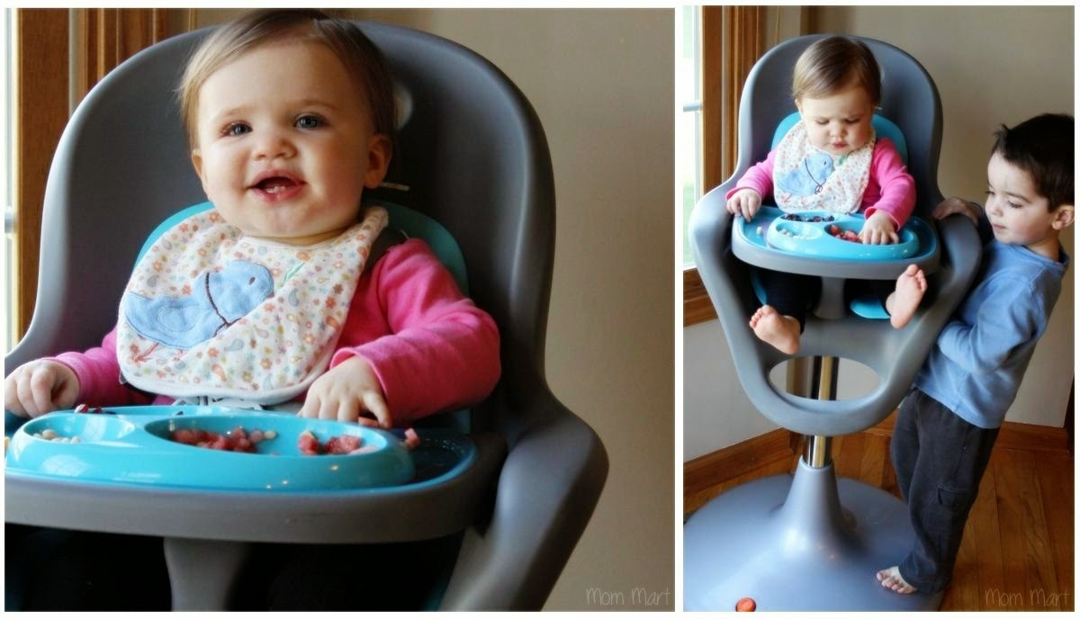Boon flair high chair pink - Dining In Style With The Boon Flair High Chair Baby