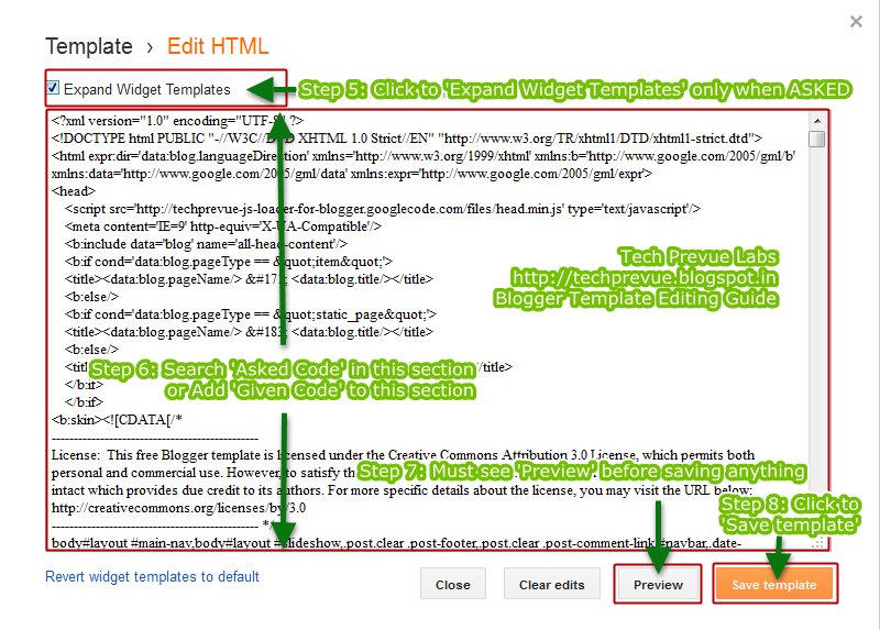 Edit Blogger XML HTML Template - Blogger Tutorial | Bit Tribe - Tech ...