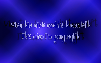 A Girl Like Me - Rihanna Song Lyric Quote in Text Image