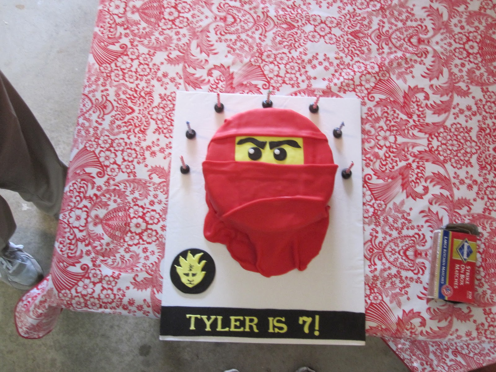 Cake Decorating Classes Tyler Tx : Cakes and Cookies by Andrea: Ninjago Birthday Cake