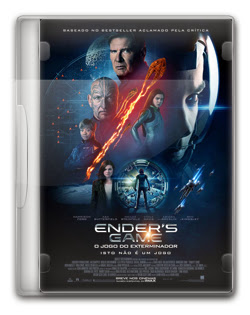 Enders Game: O Jogo do Exterminador   BDRip AVI + 720p Dual Áudio + RMVB Dublado