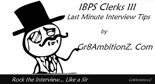 Study Materials : When I Was Attending My First Bank Interview At Bank Of  Maharashtra (lucky Me... There Is No IBPS At That Time :P ), I Was  Completely ...