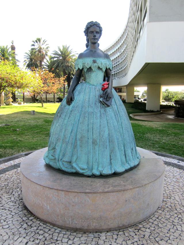 Princess Sissi statue Madeira