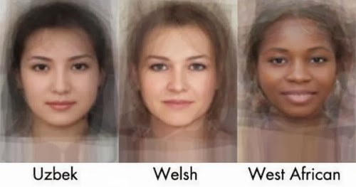 The Average Women Faces in 40 Different Countries