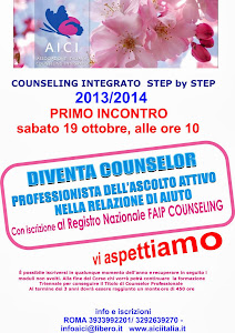 Counseling Integrato Step by Step 2013 /2014