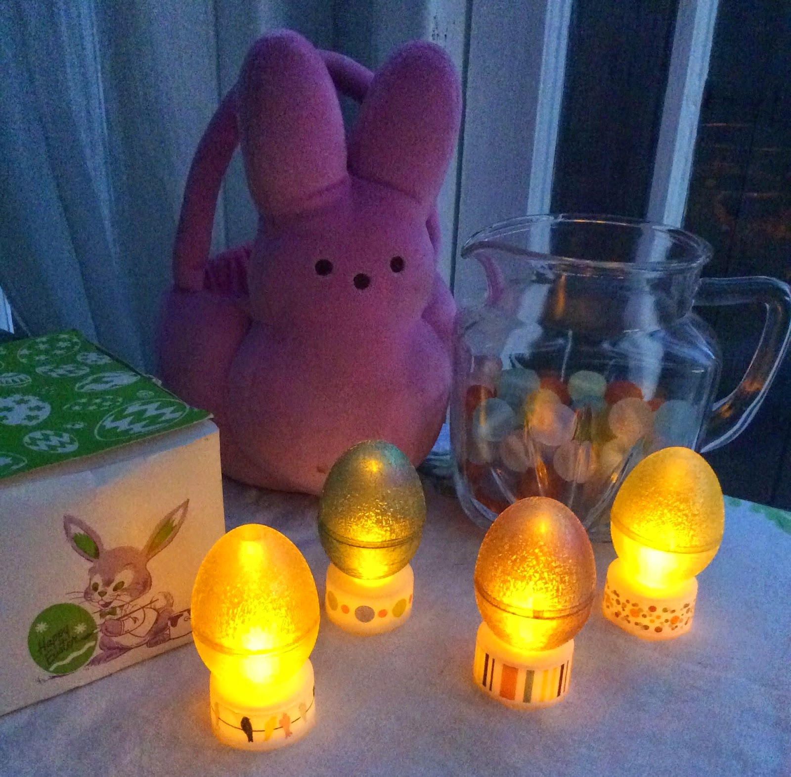 light up easter eggs