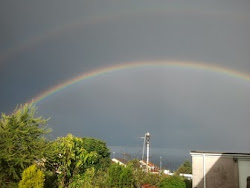 Rainbow seen from my house