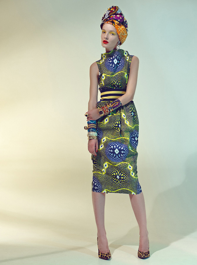 Stella Jean Spring Summer 2013 collection/ la mode africaine et pagne africain