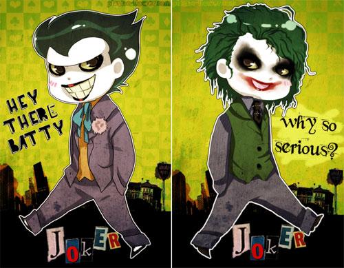 Ilustraciones del Joker 45