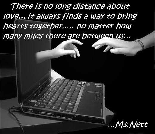 Love Poems and Love Quotes: Love Distance Long