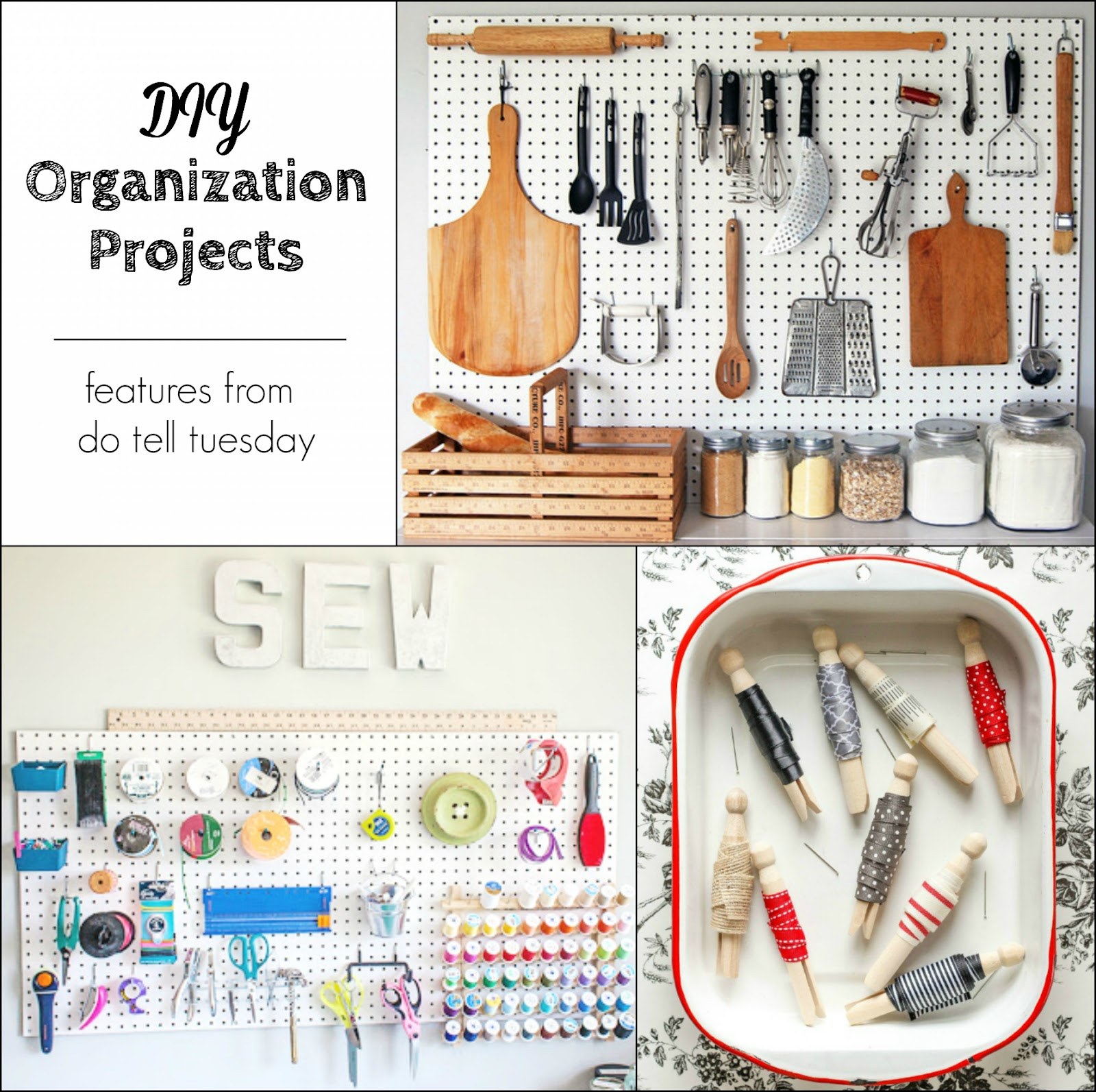 DIY Organization Projects on Diane's Vintage Zest!