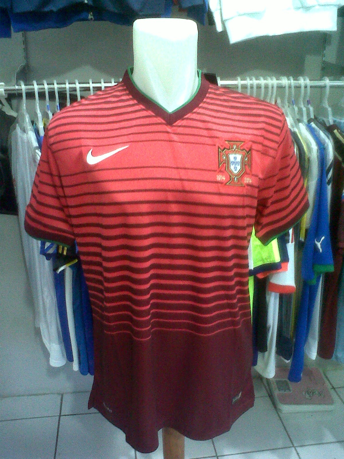 Jersey Portugal Home 2014/2016