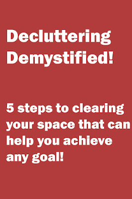 decluttering goalsetting cleaning how to tips help