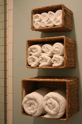 ordenar las toallas