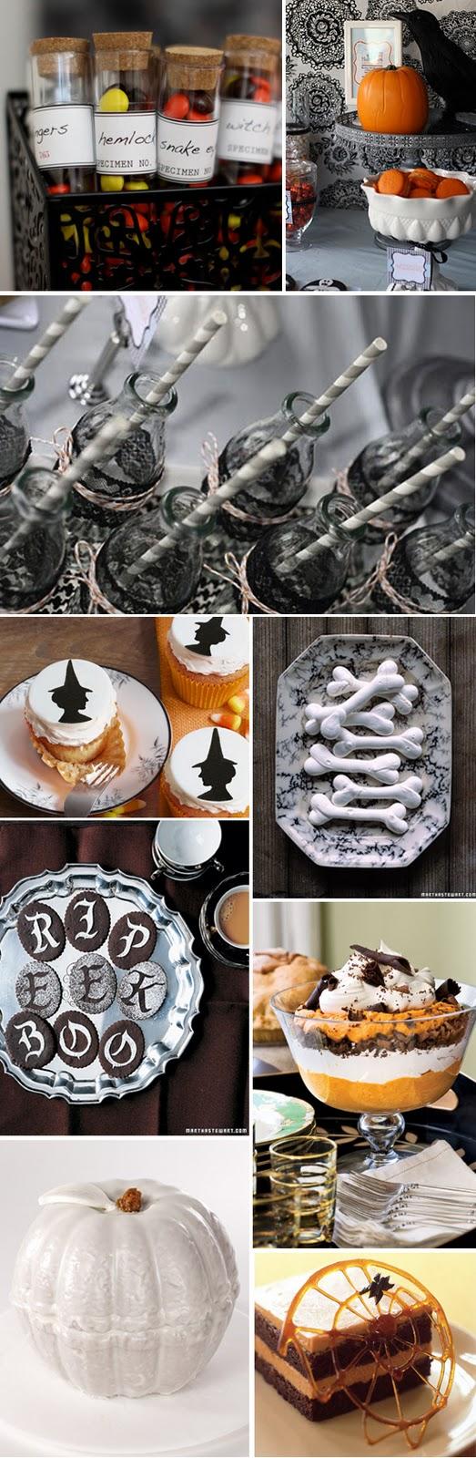 Halloween Dessert Inspiration Board
