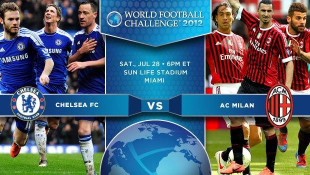 Skor Akhir AC Milan Vs Chelsea 29 Juli 2012