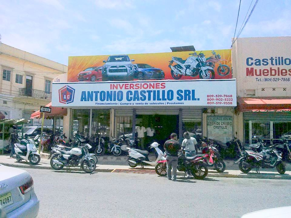 Venta de Motos y financiamientos en general