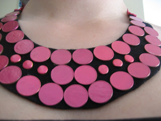 Tutorial collar babero  / Statement necklace DIY /  Tutoriel Collier plastron