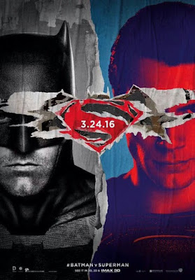 Batman v Superman Dawn of Justice Theatrical One Sheet Teaser Movie Poster