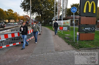 Kollaustraße - Baustelle