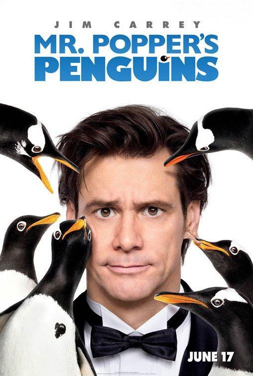 Poster de Los pingüinos del Sr. Poper