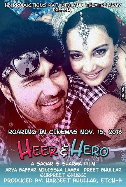 HEER & HERO - Aarya Babbar and Minisha lamba