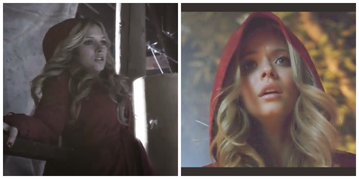 PLL CeCe and Alison as Red Coat