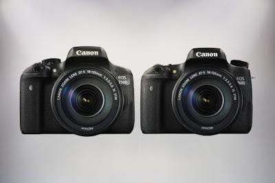 canon terbaru Eos 760d dan 750d