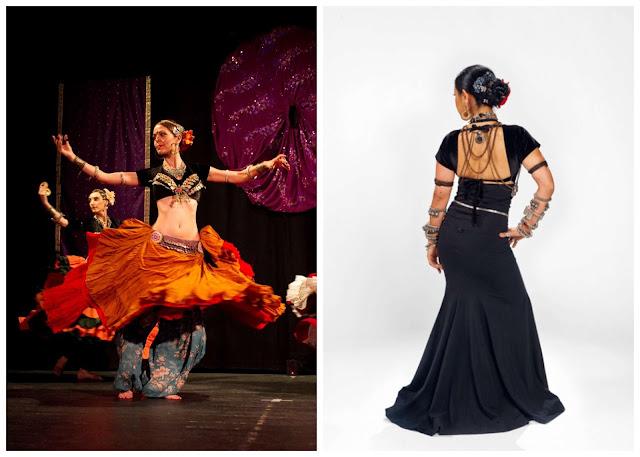 faldas de ATS. danza tribal