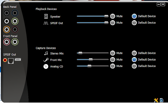 برنامج تعريف الصوت VIA HD Audio