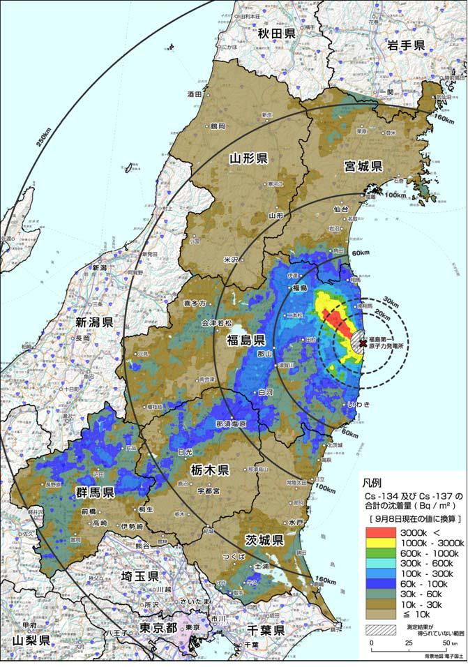Radiation Map By Ministry Of Education Gunma Looks Worse Than - Japan radiation map 2014