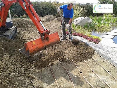 Il giardino delle naiadi la subirrigazione for Irrigazione per aspersione