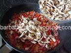 Clatite gratinate cu ciuperci preparare reteta