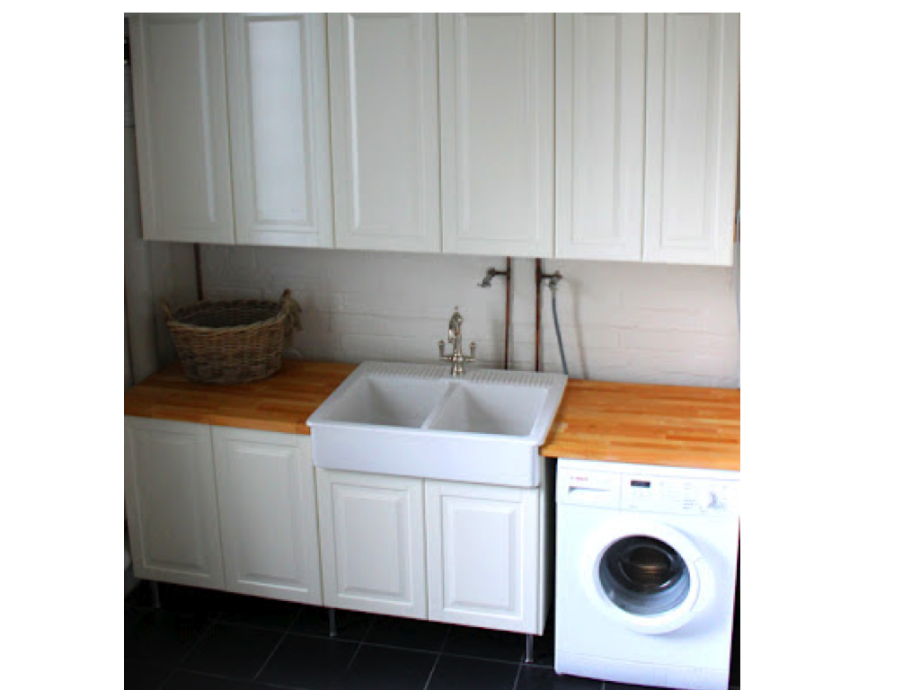 Double Bowl Laundry Sink : fireclay sinks double bowl acquello italian fireclay sinks ooh look