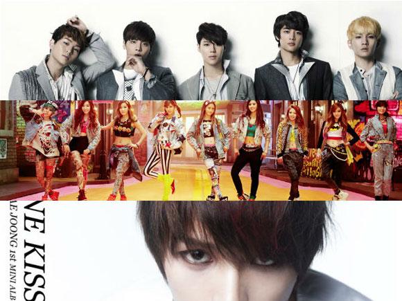 Lộ diện Top 10 nghệ sĩ K-pop có album bán chạy nhất 1, kpop, nghe si kpop, album kpop ban chay