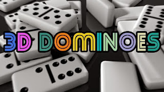 Screenshots of the 3D dominoes for Android tablet, phone.