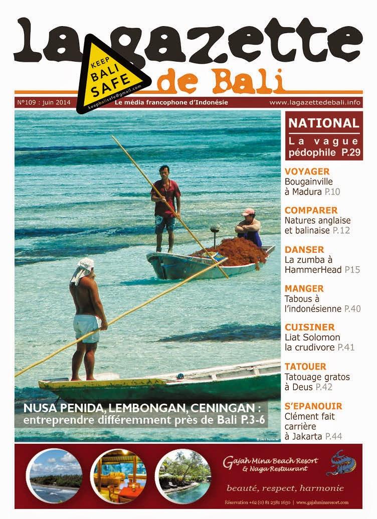 La Gazette de Bali juin 2014