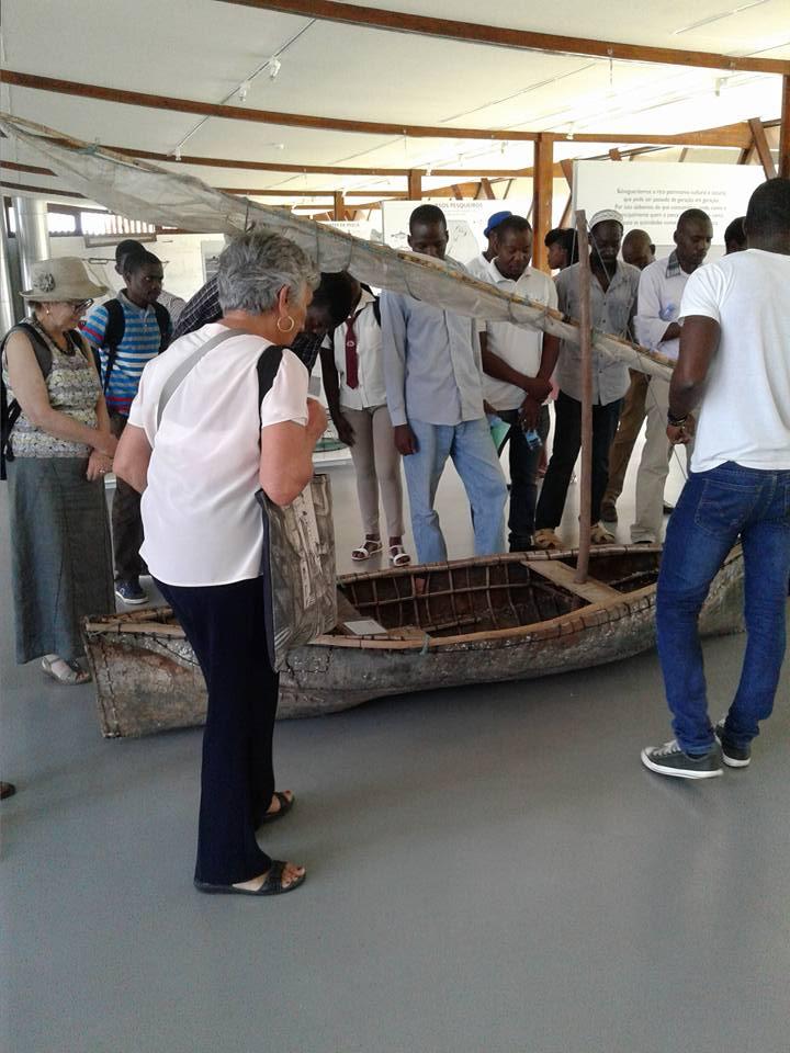 Visita ao Museu das Pescas durante a Conferência Internacional