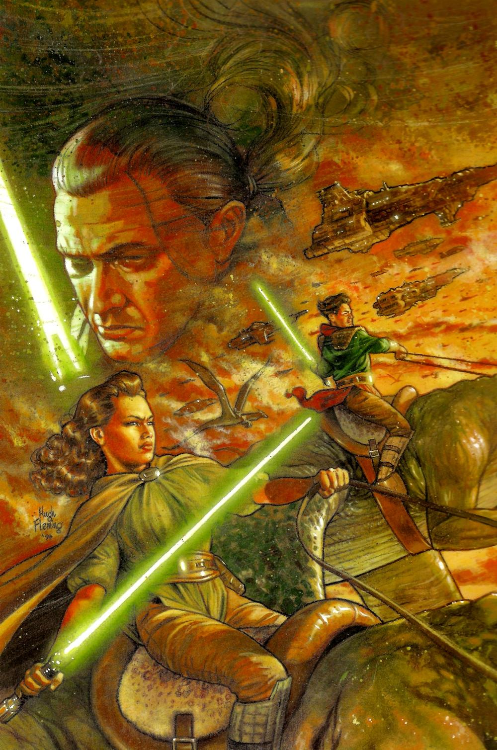 Review: Star Wars Omnibus Tales of the Jedi Volume 2
