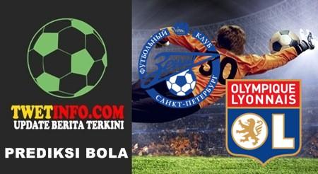 Prediksi Zenit vs Olympique Lyonnais