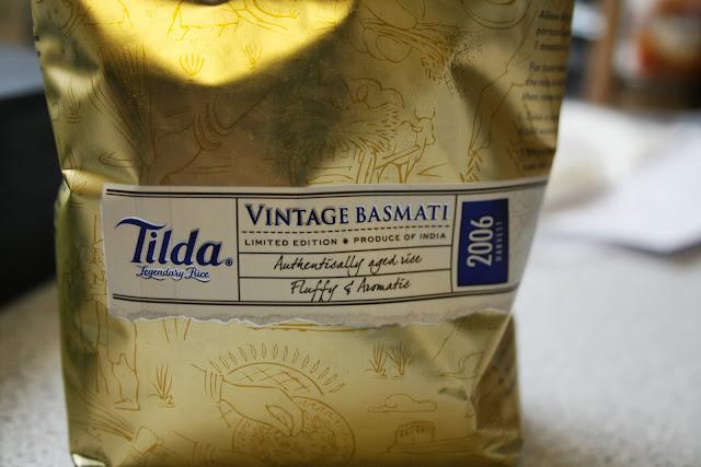 Tilda Vintage Basmati Rice Aged for 7 Years