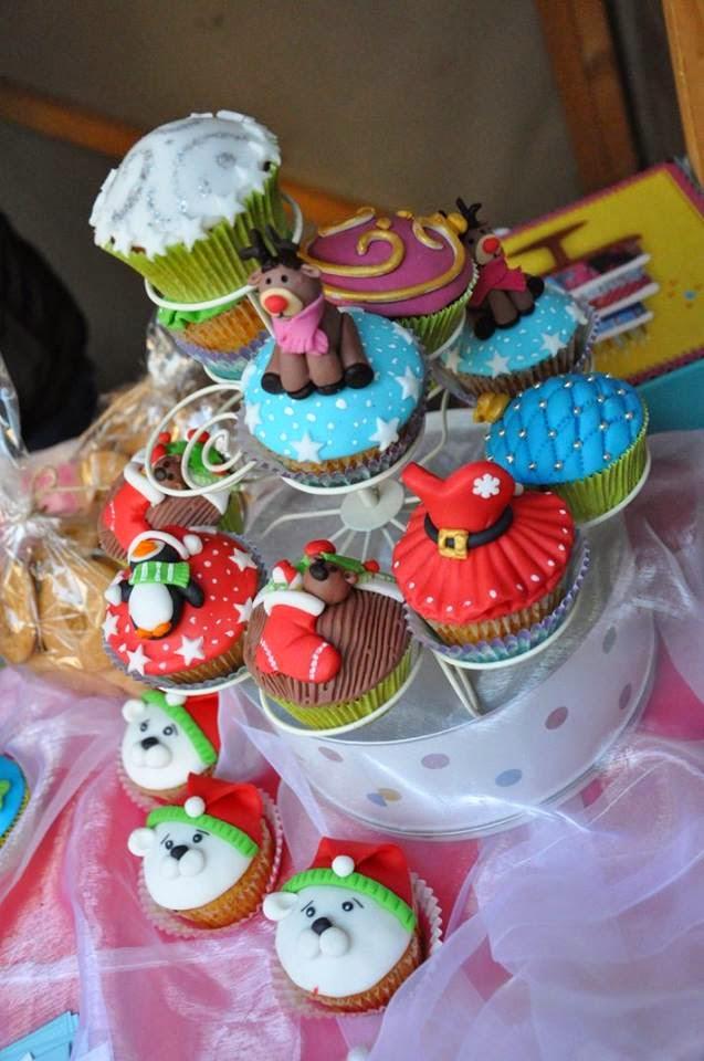 Muffiny z vianočných trhov