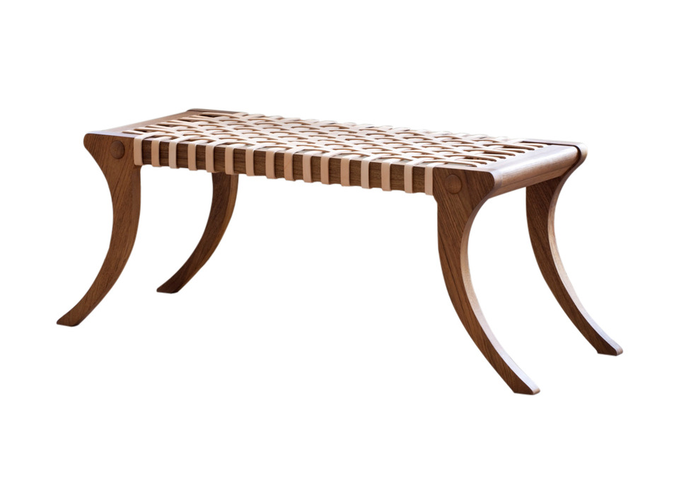 klismos leg bench ~ swedish interiors by eleish van breems rhonda and edie on