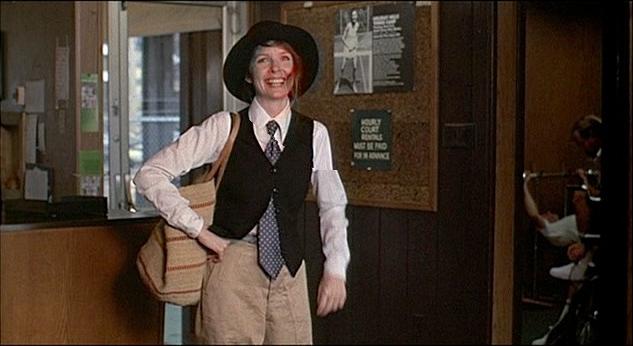 Keaton as Annie Hall
