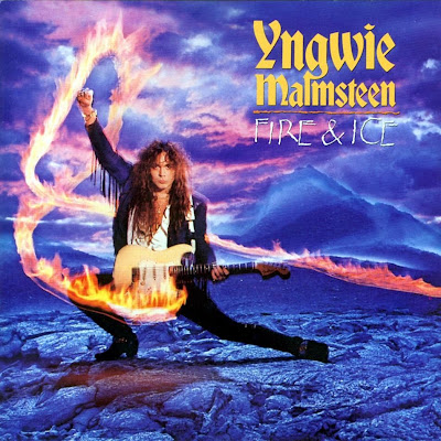 Yngwie Malmsteen-Fire and Ice-carátula frontal