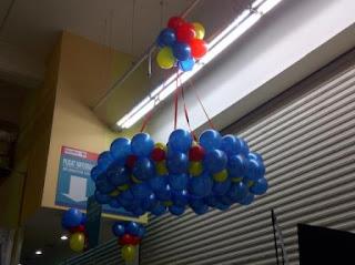 dekorasi balon CARREFOUR DF