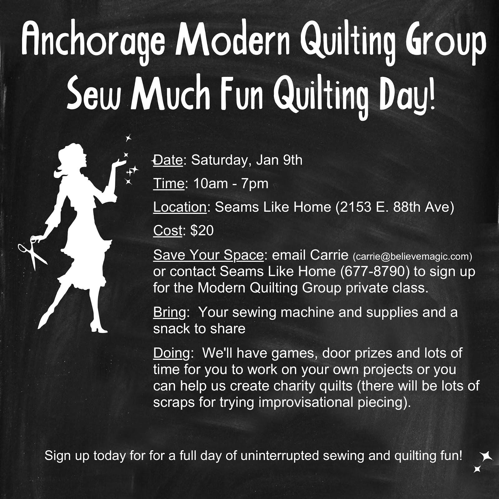 Anchorage Modern Quilt Guild : seams like home quilt shop - Adamdwight.com